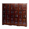 Craftsman Mission 1431 CD Walnut Media Cabinet