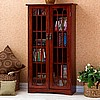 Mission Craftsman Cherry Multimedia Cabinet