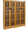 Craftsman Mission 954 CD Oak or Walnut Media Cabinet