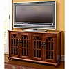 Mission Craftsman Walnut Entertainment Center