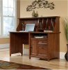 Cherry Mission Craftsman Shaker Computer Desk w/Hutch