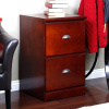 Mission Craftsman Shaker Cherry 2 Drawer File Cabinet