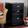 Mission Craftsman Shaker Black 3 Drawer File Cabinet