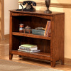 Mission Craftsman Oak 2 Shelf Bookcase