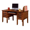 Mission Craftsman Oak Computer Desk