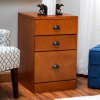 Mission Craftsman Shaker Oak 3 Drawer File Cabinet