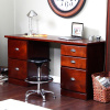 Mission Craftsman Shaker Cherry 5 Drawer Desk