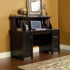 Warm Black Shaker Computer Desk w/Hutch