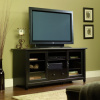 Warm Black Shaker Entertainment Center