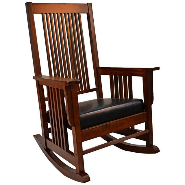 Mission Craftsman Hardwood Rocking Chair