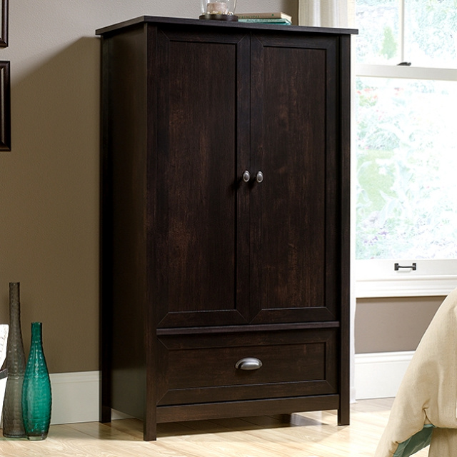 Walnut Craftsman Mission Shaker Armoire