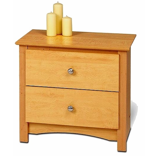 Shaker Mission Style Nightstand Side Table