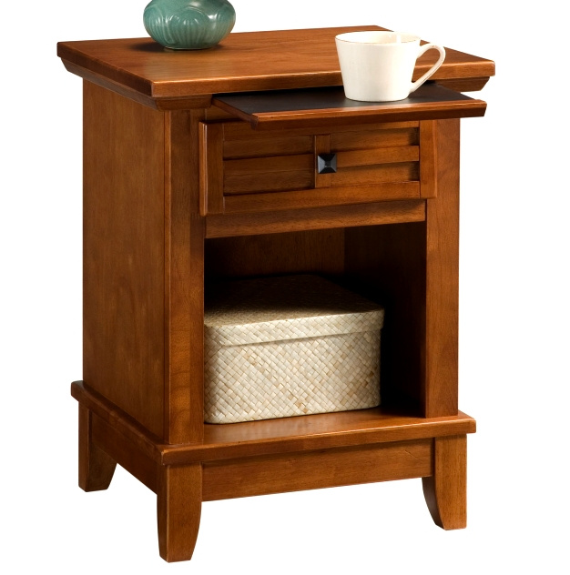 Mission Craftsman Oak Nightstand