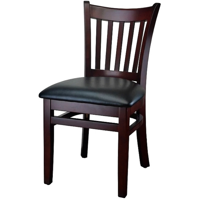Mahogany Mission Style Dining Side Chair