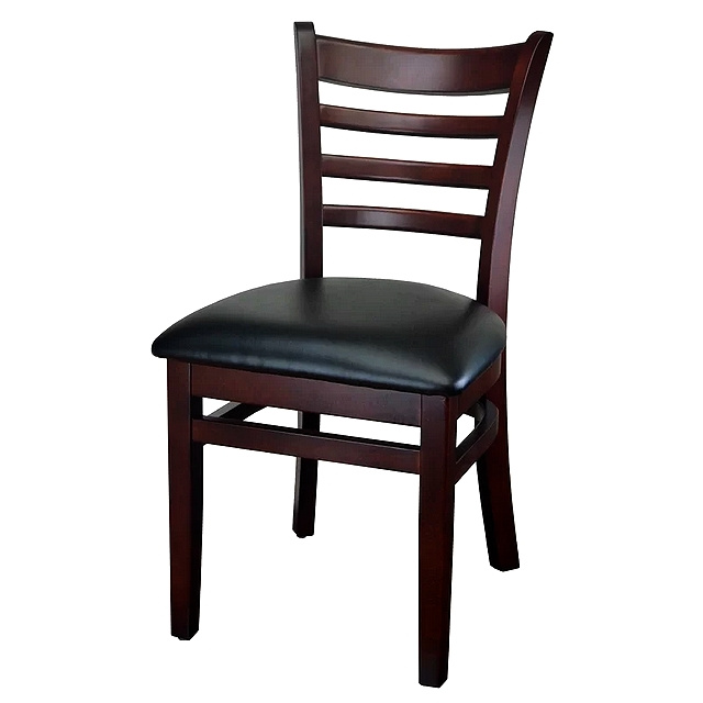 Mahogany Shaker Style Dining Side Chair