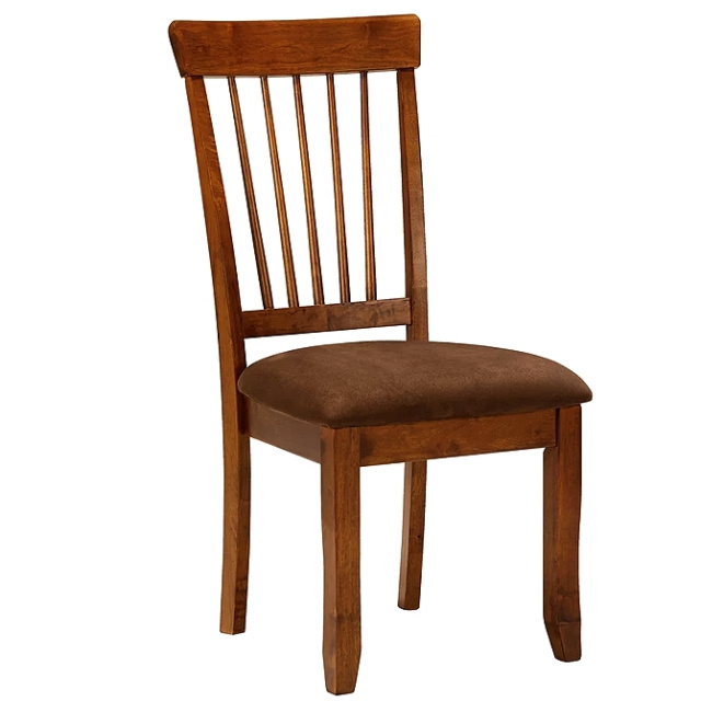 Rustic Brown Mission Shaker Side Chair