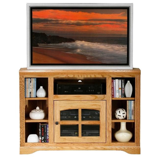 Mission Oak Entertainment Center Tv Stand View Images
