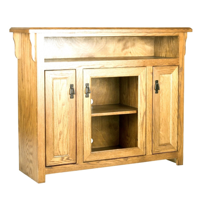Mission Oak Entertainment Center TV Stand