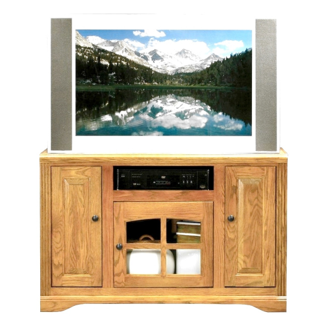 Mission Oak TV Stand Entertainment Center