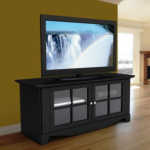 Classic Black Mission TV Stand