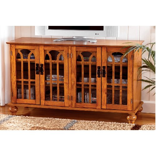 Mission Craftsman Flat Screen Entertainment Center View Images