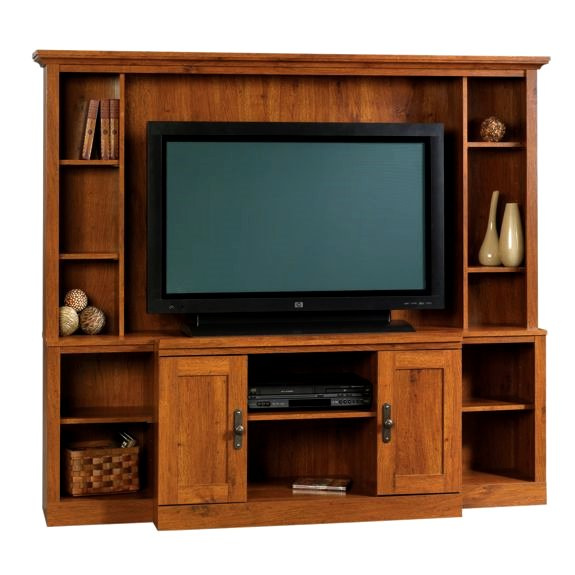 Craftsman Shaker Oak Entertainment Center