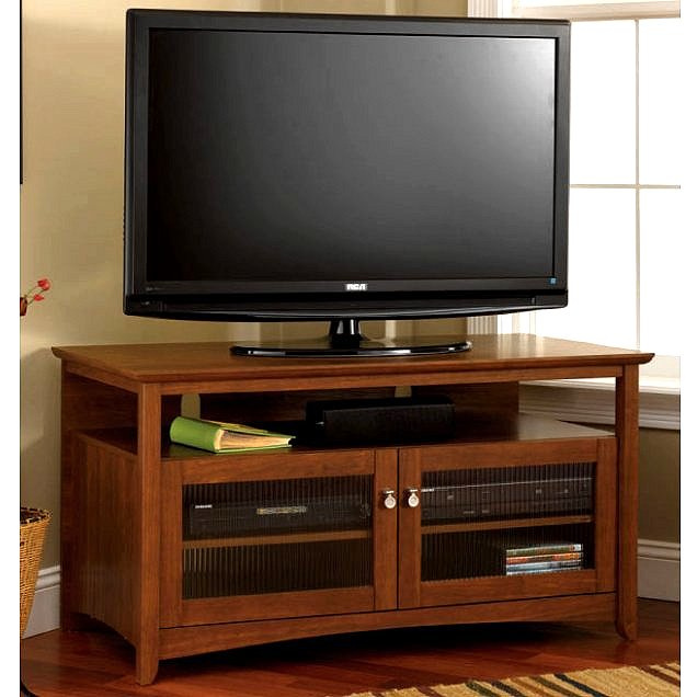 Shaker Mission Cherry TV Stand