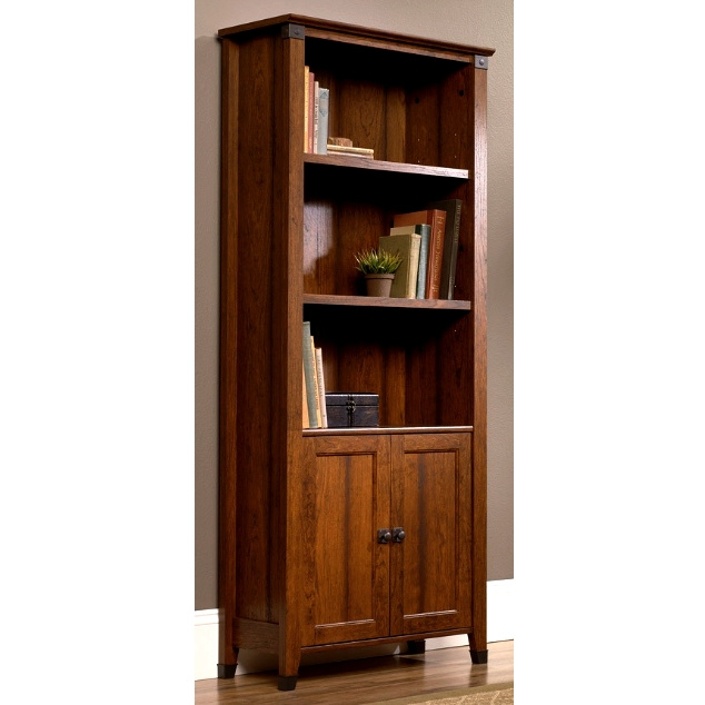 Craftsman Mission Bookcase w/Wrought Iron