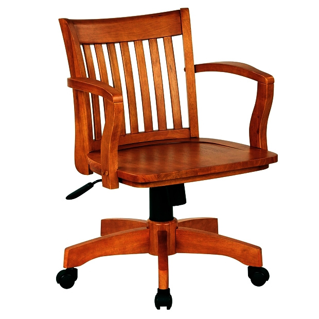 Mission Craftsman Maple Office Chair