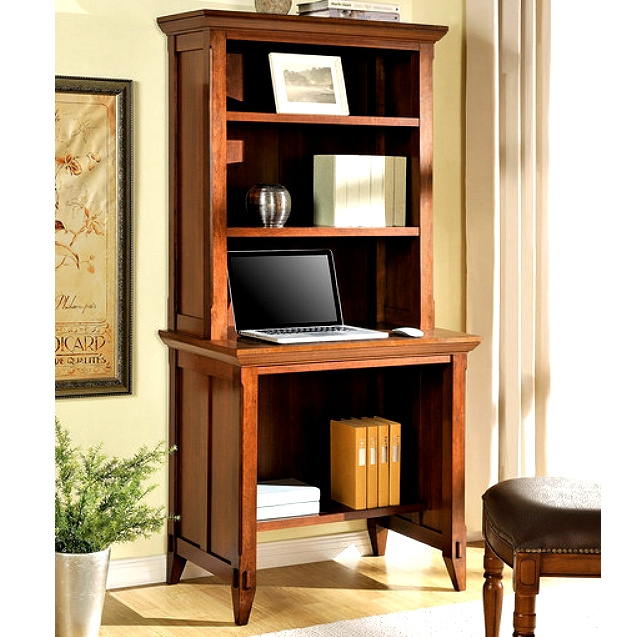 Mission Shaker Cherry Desk And Hutch View Images