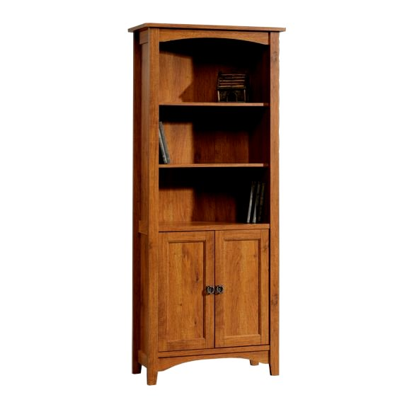 Mission Craftsman Style Bookcase W Doors View Images
