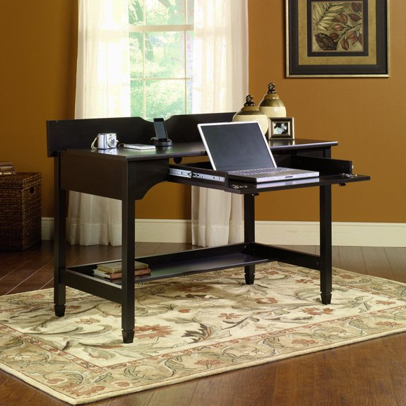 Warm Black Shaker Laptop Computer Desk
