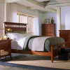 Mission Craftsman Shaker Cherry Queen Bed