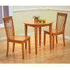 Mission Shaker Maple 3pc Dining Set