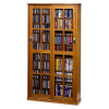 Craftsman Mission 700 CD DVD Oak Media Cabinet