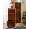 Mission Craftsman Shaker Walnut 3 Drawer File Cabinet